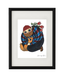 """Big Softy"" Giclee Print - unframed"