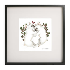 """Piggy & Polly"" - Giclee Print (unframed)"