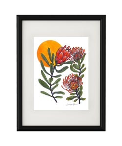 """Protea"" Giclee Print - unframed"