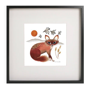 """The Shy Fox"" - Gicleé Print (unframed)"