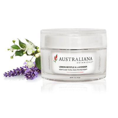 Lemon Myrtle & Lavender Night & Day Total Face Protection