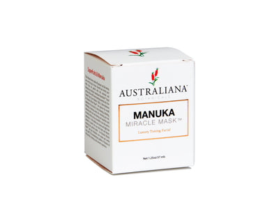 Pic of Australiana Botanicals Manuka Miracle Mask box