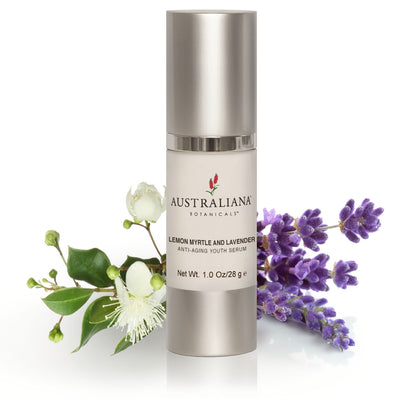 Lemon Myrtle & Lavender Anti-aging Youth Serum