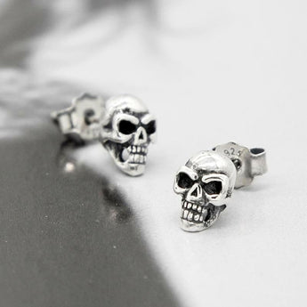 6a95620cd SKULL FACTORY™ Minimalist 925 Sterling Silver Earrings