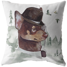 Load image into Gallery viewer, Chihuahua Pillow | Vintage Dog Decor | Chi Lovers Gift