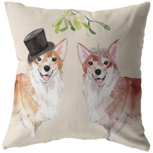 Load image into Gallery viewer, Corgi Dog Pillow for Couples Christmas Gift