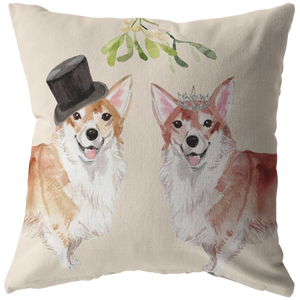 Corgi Dog Pillow for Couples Christmas Gift
