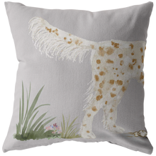 Load image into Gallery viewer, Orange and White English Setter Gift | Unique Pet Pillows | Gun Dog Decor | Dog Portrait