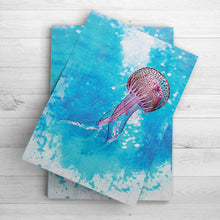 Load image into Gallery viewer, Jellyfish Wall Art | Nursery Room Decor | Beach House Art and Decor | Tropical Wall Art | Bathroom Decor