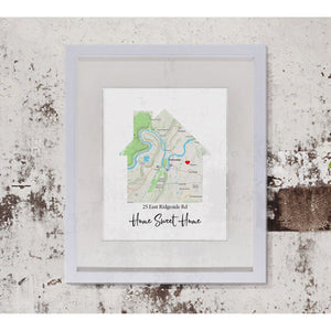 Home Map Print