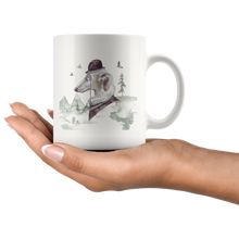 Load image into Gallery viewer, Russian Wolf Hound Mug | Pet Lovers Gift | Present for Pet Loss