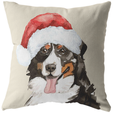 Load image into Gallery viewer, Berner Pillow for Christmas