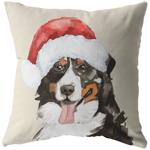 Berner Pillow for Christmas