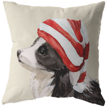 Load image into Gallery viewer, Collie Christmas Pillow | Sheep Dog Pillow