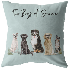 Load image into Gallery viewer, Summer Dog Pillow
