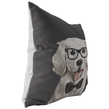 Load image into Gallery viewer, Golden Retriever Watercolor Pillow