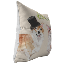 Load image into Gallery viewer, Welsh Corgi Gift | Dog Christmas Pillow | Pet Portrait Pillow