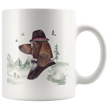 Basset Hound Mug | Pet Lovers Gift | Vintage Inspired Art Cup