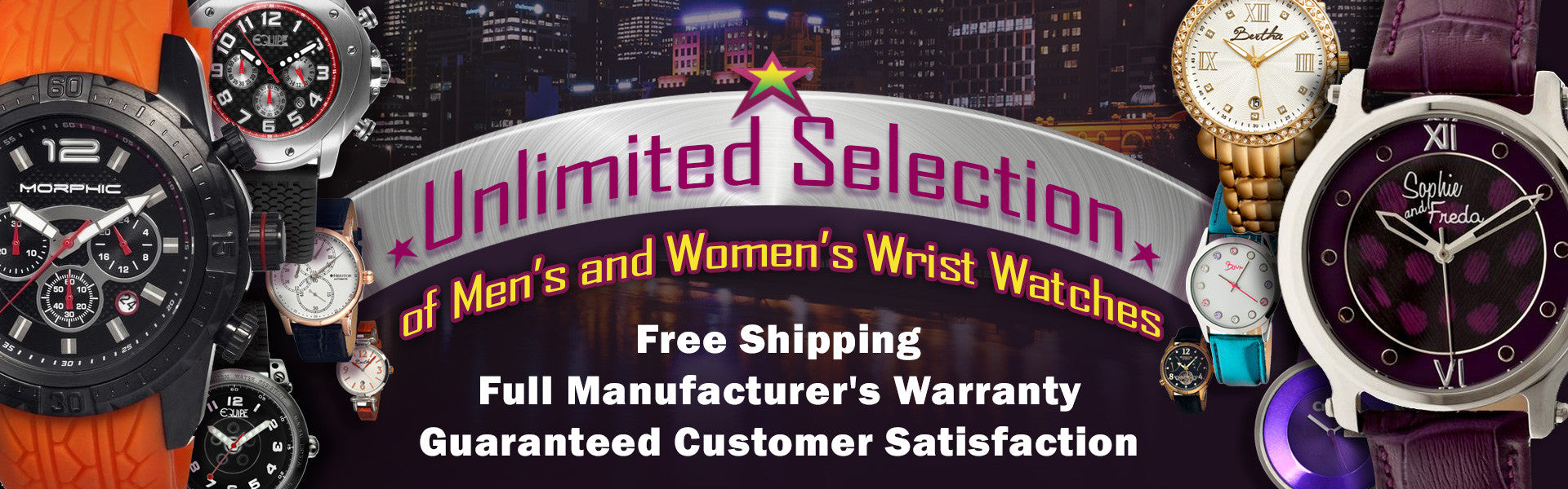 Watch Jones - Unlimited Selection of Mens and Womens Wrist Watches