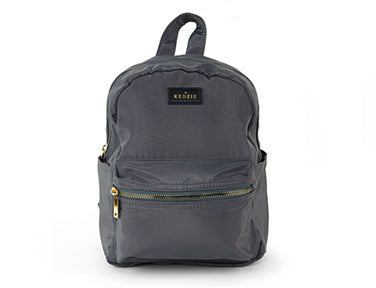 Mainstreet Mini Backpack- Grey