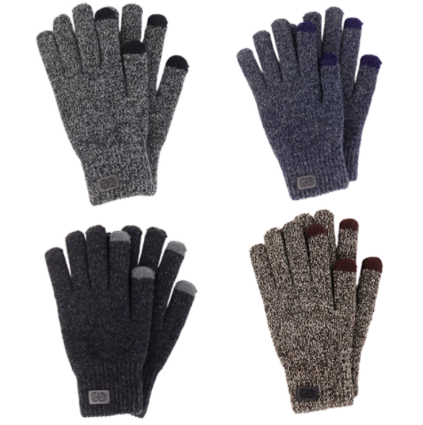 Mens Knit Gloves
