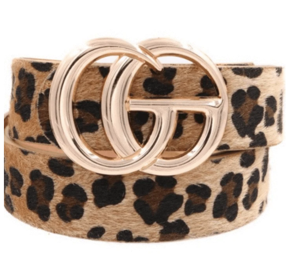 Leopard Belt - One Size