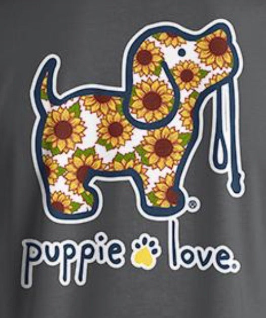 Puppie Love Sunflower Long Sleeve