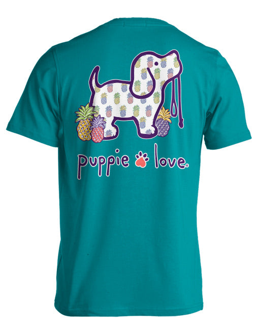 Puppie Love - Pineapple Short Sleeve