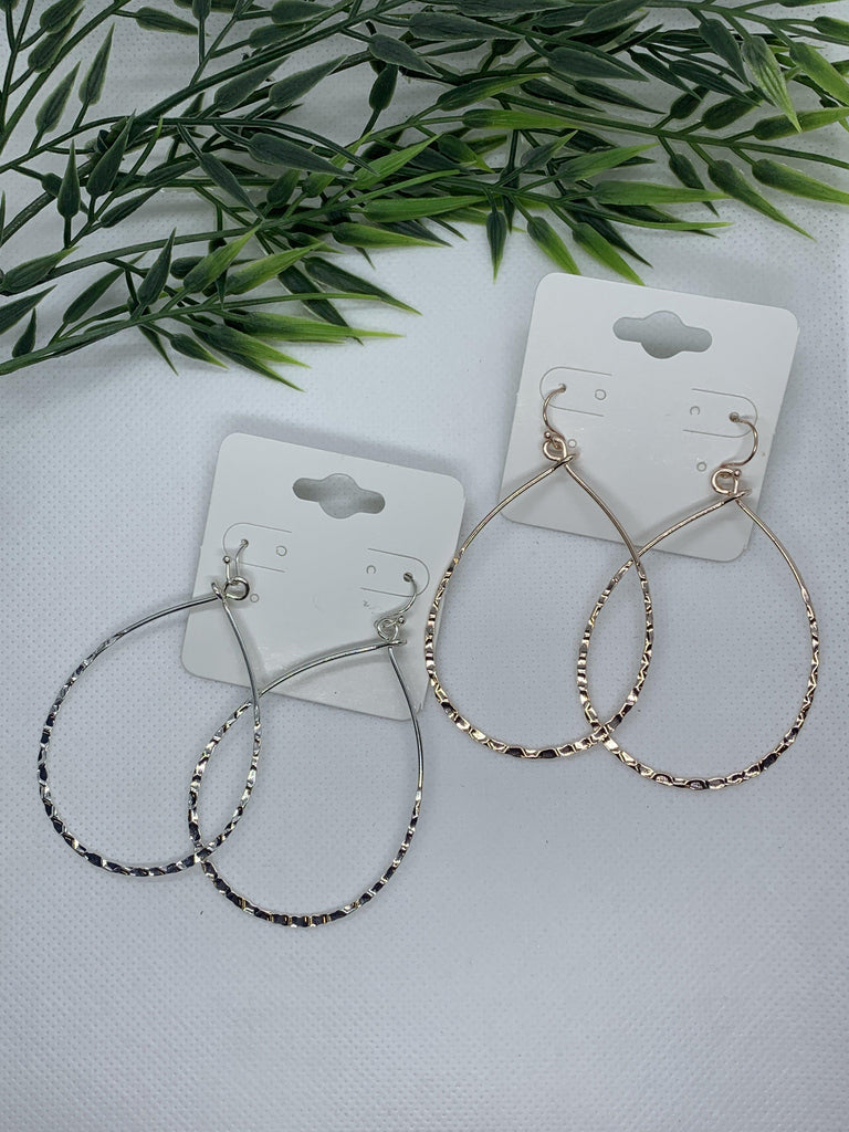 Tear Drop Design Earring- Lead Compliant