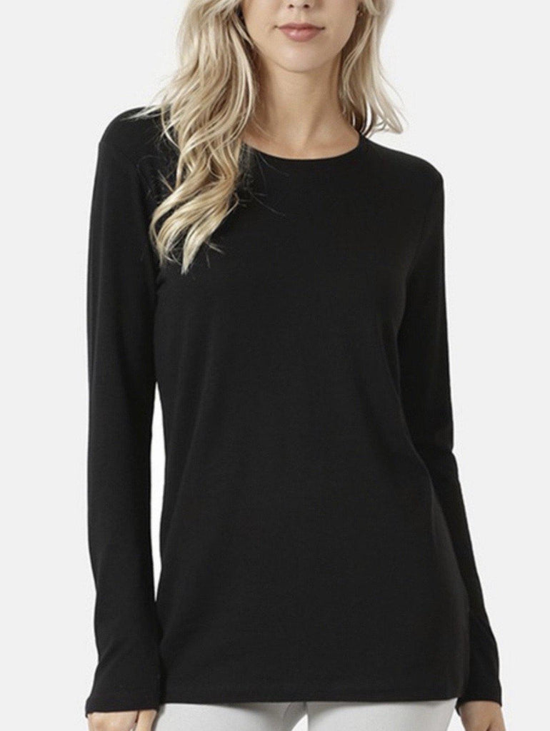 Basic long Sleeve- Black