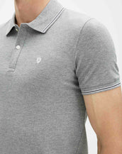 Polo lecolrayeb gris HERO
