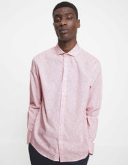 Camisa regular fit naflor corail