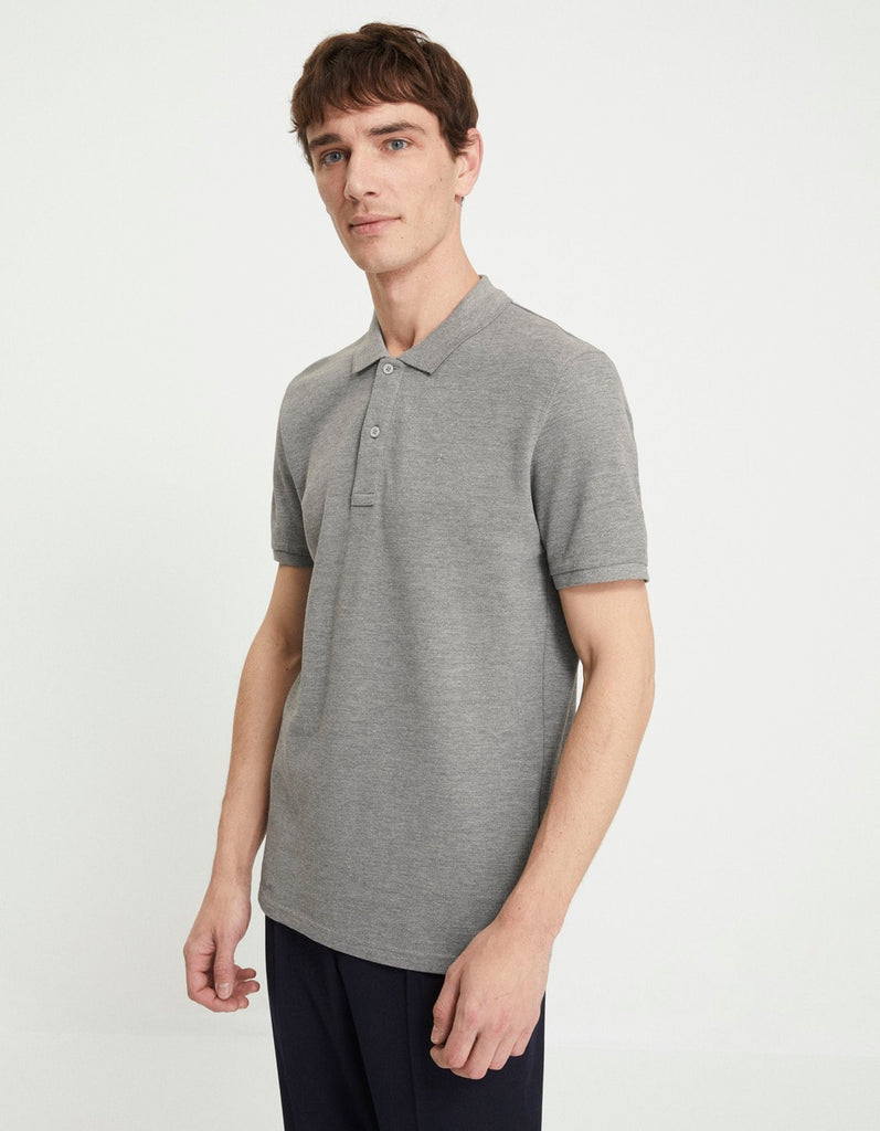 Polo NECEONE gris chine