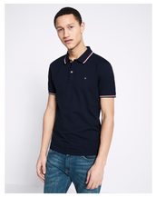 Polo NECETWO navy blue