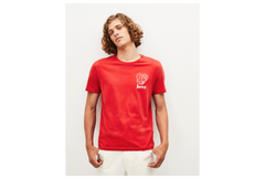 playera pebridge rust red