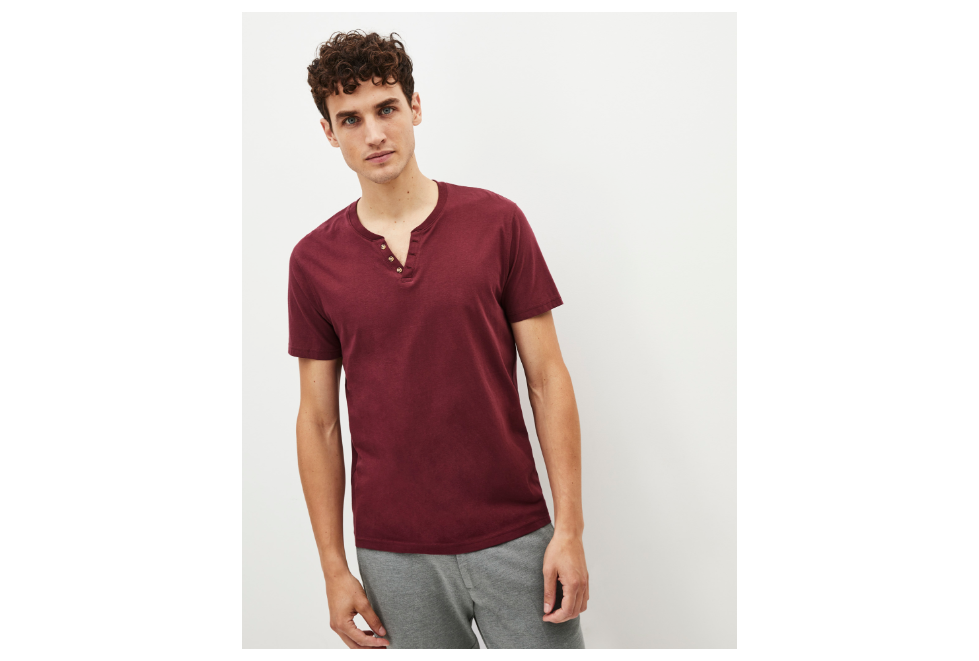 Playera Nebet burgundy