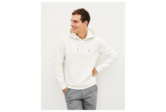 sudadera melourd OFF WHITE