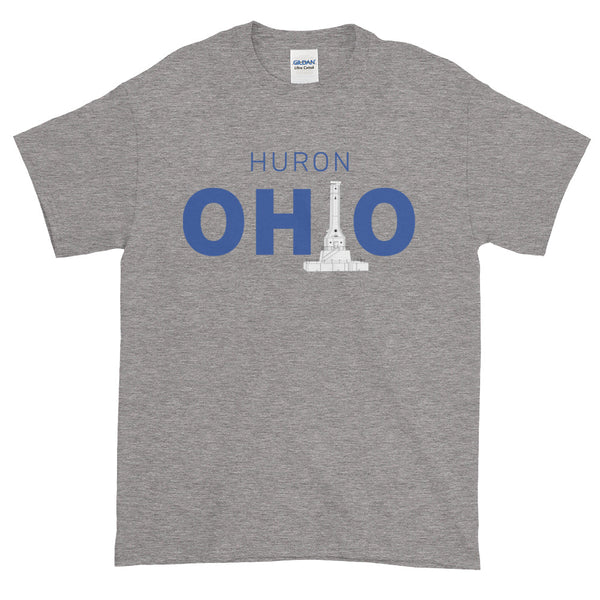 Men's Huron, Ohio - Short Sleeve T-Shirt (Grey)