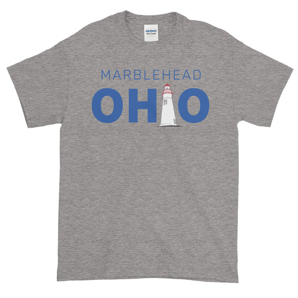 Men's Marblehead, Ohio - Short Sleeve T-Shirt (Grey)
