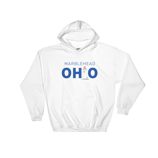 Marblehead, Ohio - Hooded Sweatshirt (White)