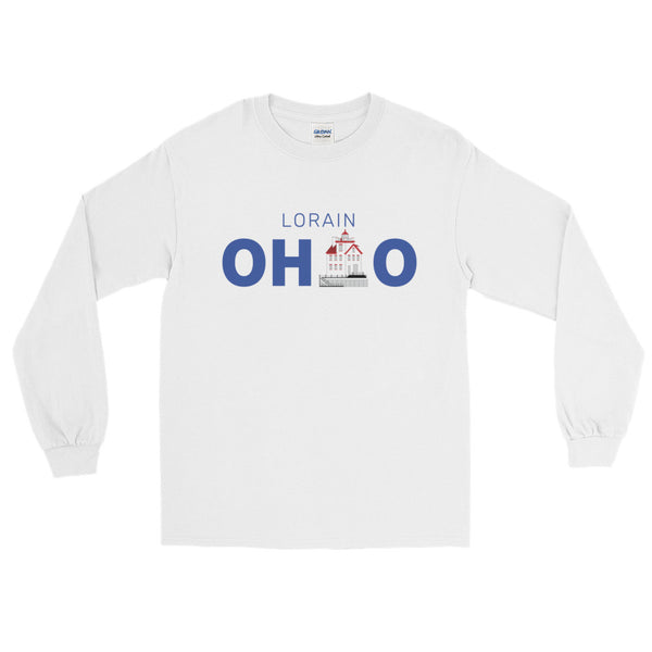Lorain, Ohio - Long Sleeve T-Shirt (White)