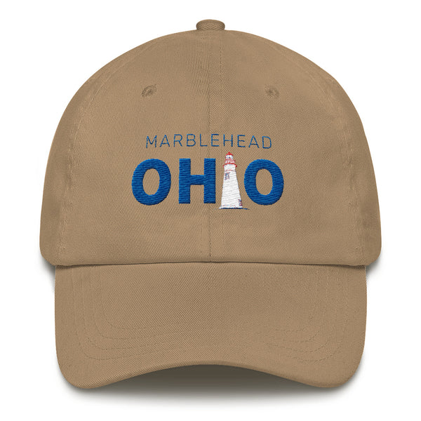Marblehead, Ohio - embroidered hat (khaki)