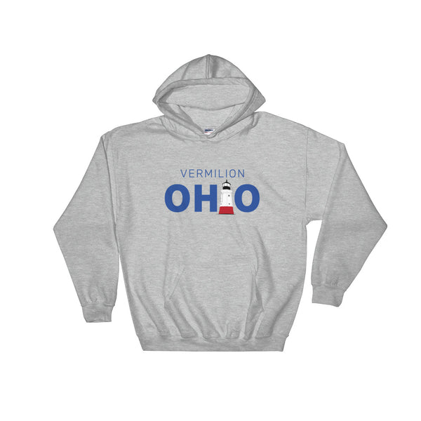Vermilion, Ohio - Hooded Sweatshirt (Grey)