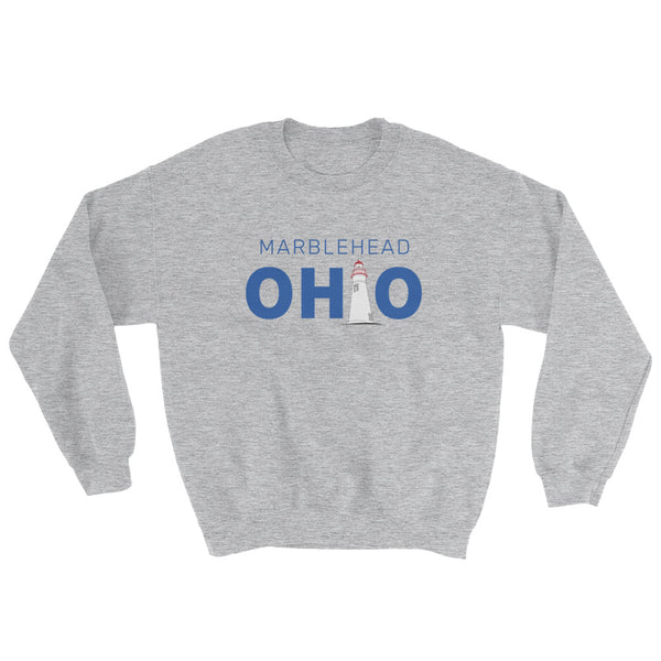 Marblehead, Ohio - Crewneck Sweatshirt (Grey)