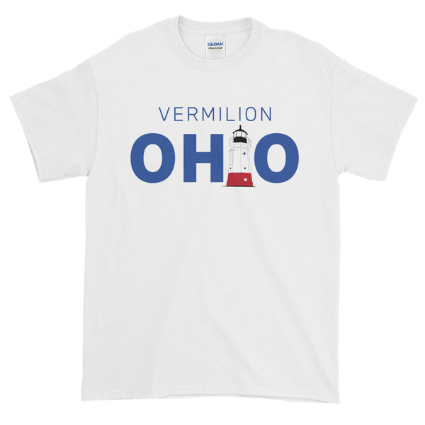 Men's Vermilion, Ohio - Short Sleeve T-shirt (white)