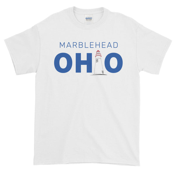 Men's Marblehead, Ohio - Short Sleeve T-Shirt (White)