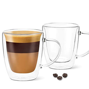 5.4 oz Lungo Cup - Pack of 2 - With Handle