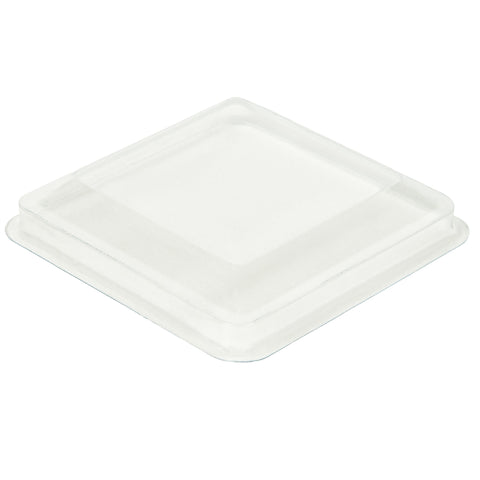 100 Lids for 5 oz Square Large Mini Cups