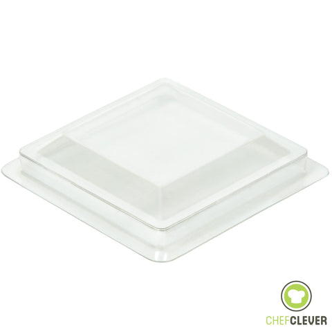 50 Lids for 2 oz Square Short Mini Cups