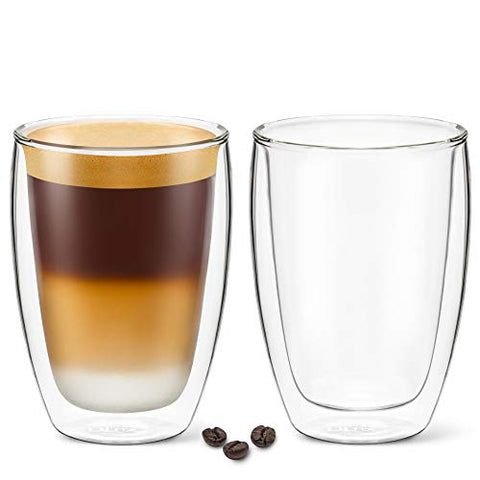 12 oz Latte Cup - Pack of 2 - No Handle